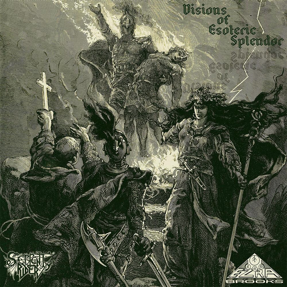 Ezra Brooks / Serpent Rider - Visions Of Esoteric Splendor