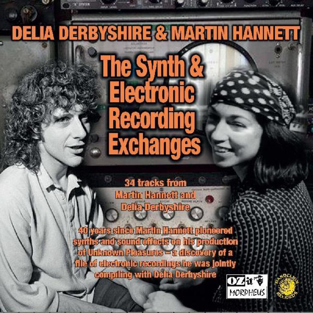 Delia Derbyshire / Hannett,Martin - Synth And Electronic Recording Exchanges