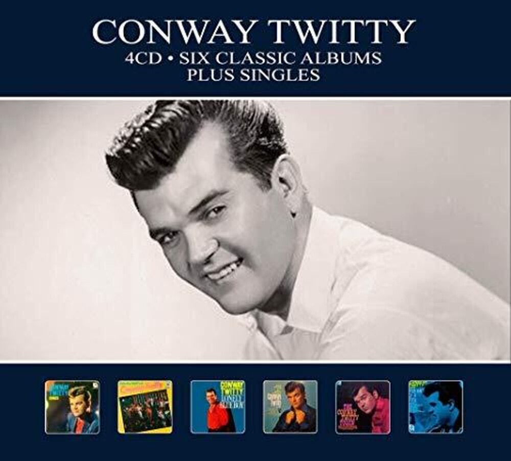Conway Twitty - Six Classic Albums + Singles (Hol)