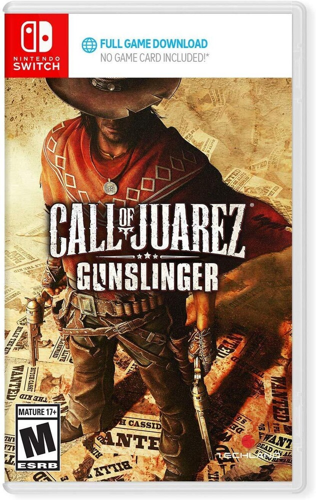 Swi Call of Juarez: Gunslinger - Call Of Juarez: Gunslinger