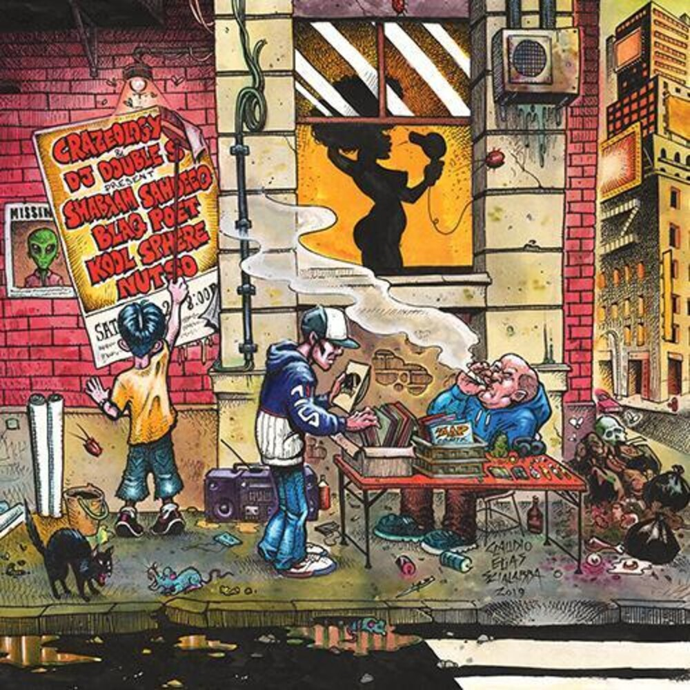 Crazeology & Dj Double S - Keepers Of The Lost Art