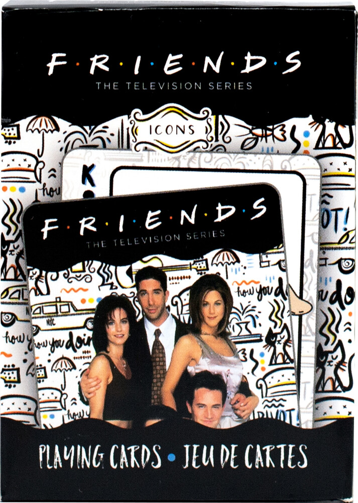 - Friends Icons Playing Cards