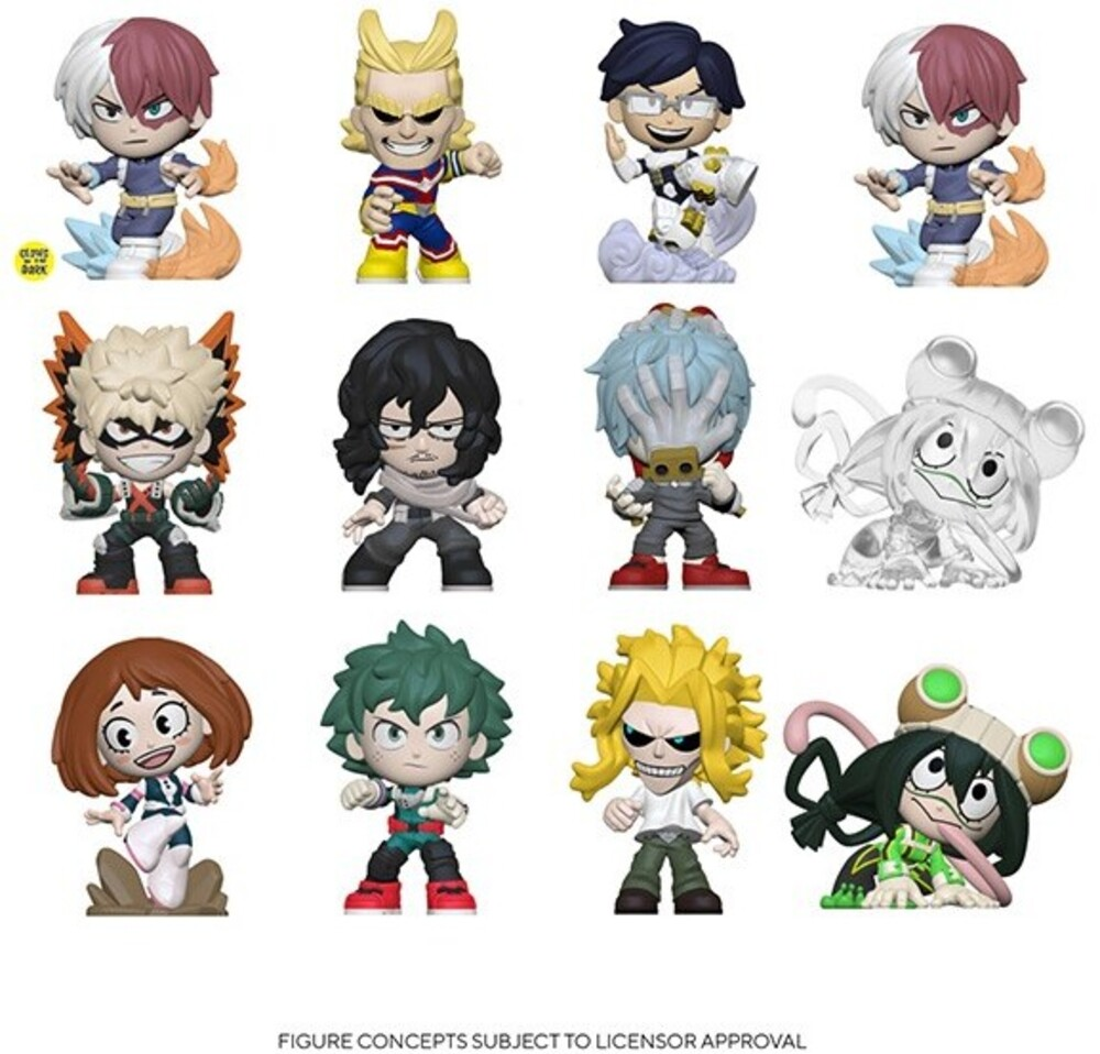 Funko Mystery Mini: - FUNKO MYSTERY MINI: My Hero Academia (ONE Random Mystery Mini Figure Per Purchase)