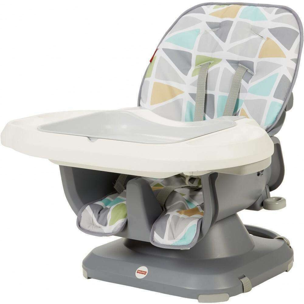 - Fisher Price - SpaceSaver High Chair, Soothing Triangles