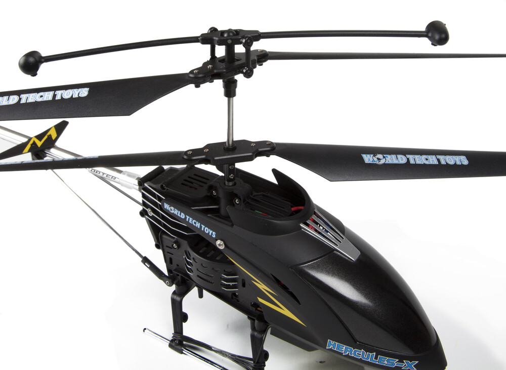 Rc Helicopters - 3.5CHs: Hercules-X Remote Control UNBREAKABLE Gyro Helicopter