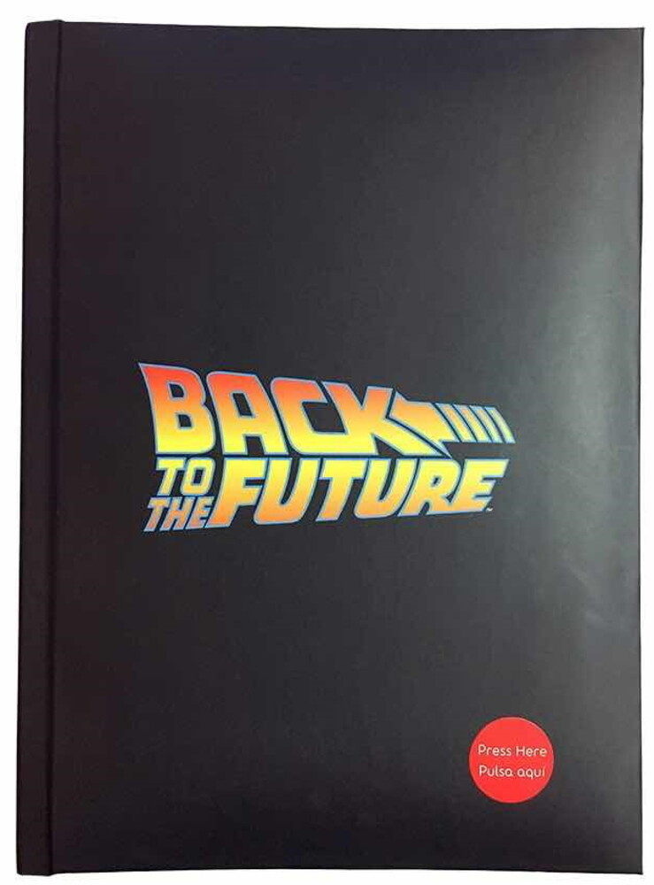 Back to the Future Logo Journal Notebook W/Light - Back To The Future Logo Journal Notebook W/Light