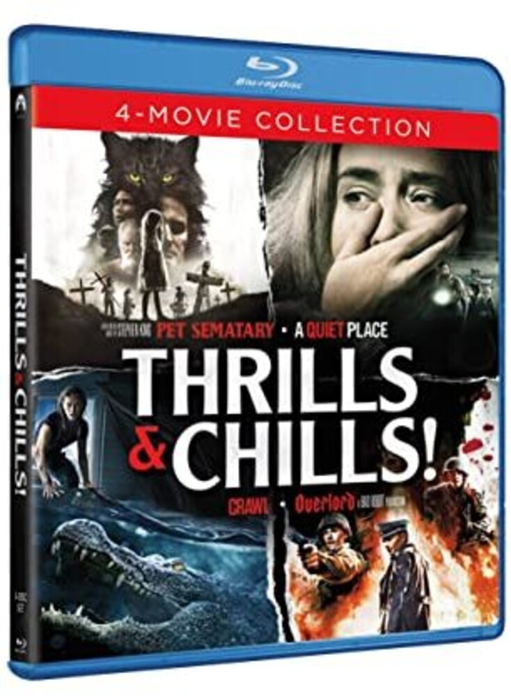 Thrills & Chills 4-Movie Collection - Thrills & Chills 4-Movie Collection (4pc) / (Box)