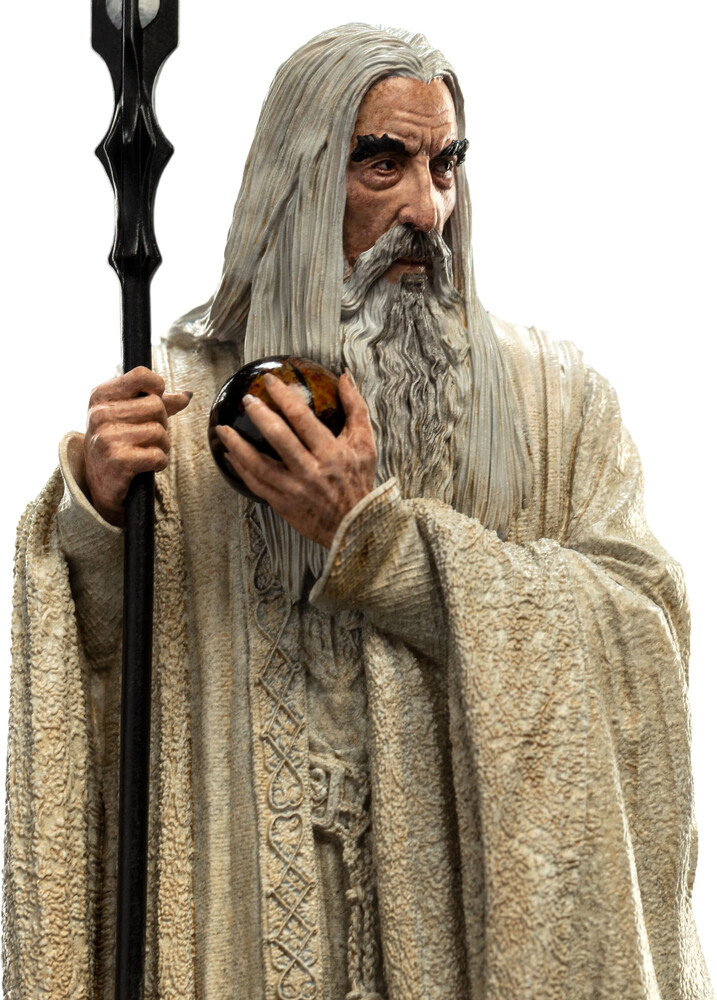 - WETA Workshop Polystone - Lord Of The Rings - Saruman The White