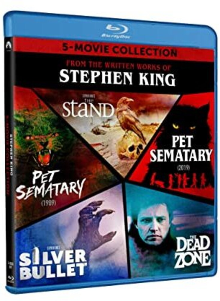 Stephen King 5-Movie Collection - Stephen King 5-Movie Collection (5pc) / (Box Ac3)