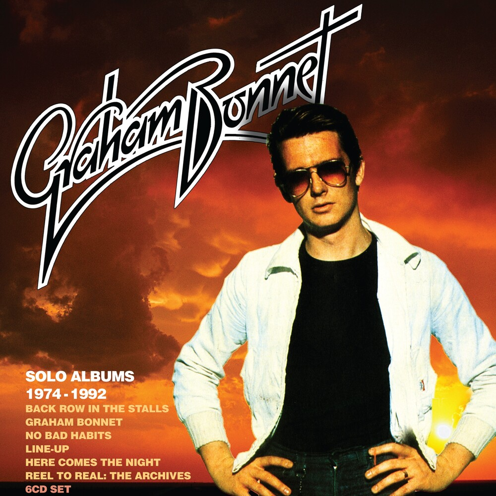 Graham Bonnet - Solo Albums 1974-1992: Boxset (Box) (Uk)