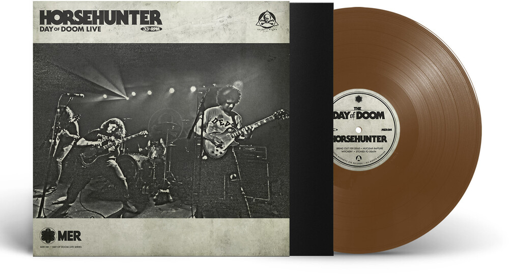 Horsehunter - Day Of Doom Live (Brown Vinyl) (Brwn) [Limited Edition]