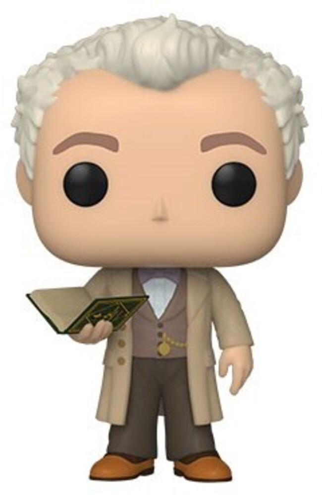 - FUNKO POP! TELEVISION: Good Omens-Aziraphale w/Book (Styles May Vary)