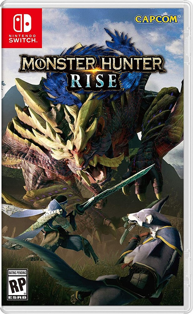 Swi Monster Hunter Rise - Monster Hunter Rise for Nintendo Switch