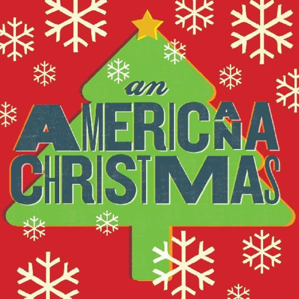 Various Artists - An Americana Christmas [Indie Exclusive Limited Edition Green/Red LP]