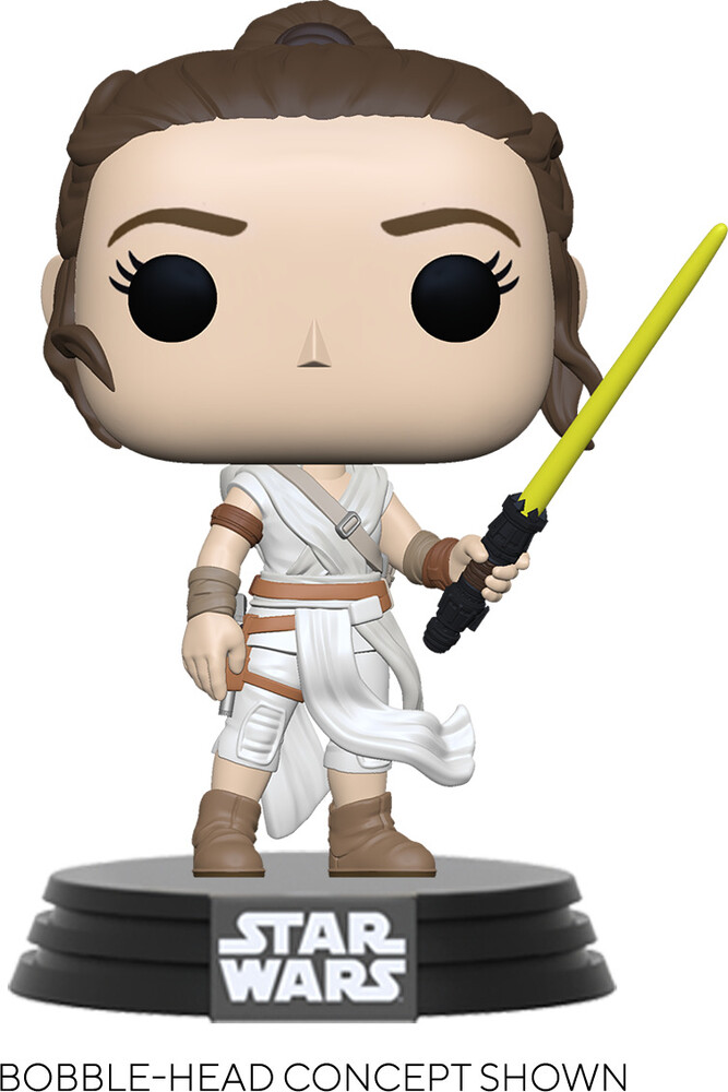 Funko Pop! Star Wars: - FUNKO POP! STAR WARS: SWEp9- Rey w/ Yellow Saber