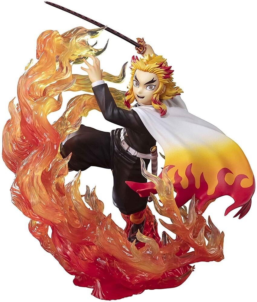 - Tamashi Nations - Demon Slayer - Kyojuro Rengoku Flame Breathing,Bandai Spirits FiguartsZERO