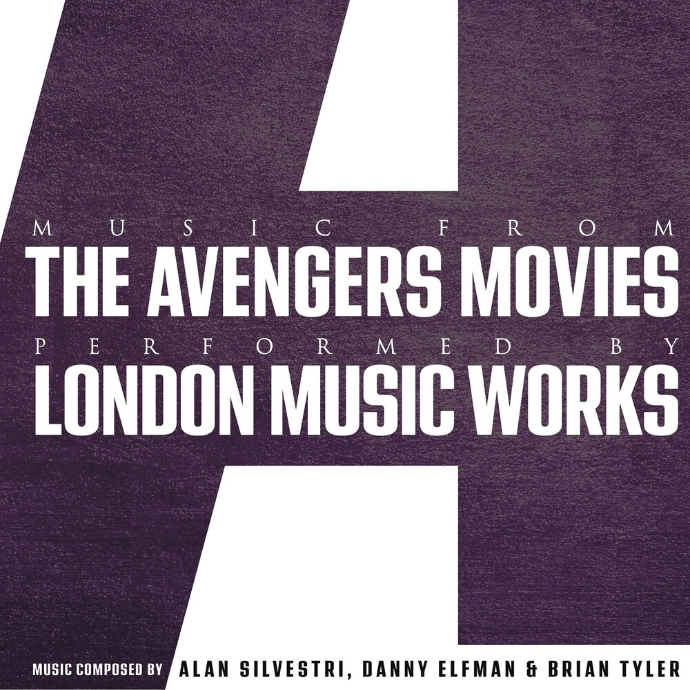 London Music Works - Music From The Avengers Movies (Color Vinyl)
