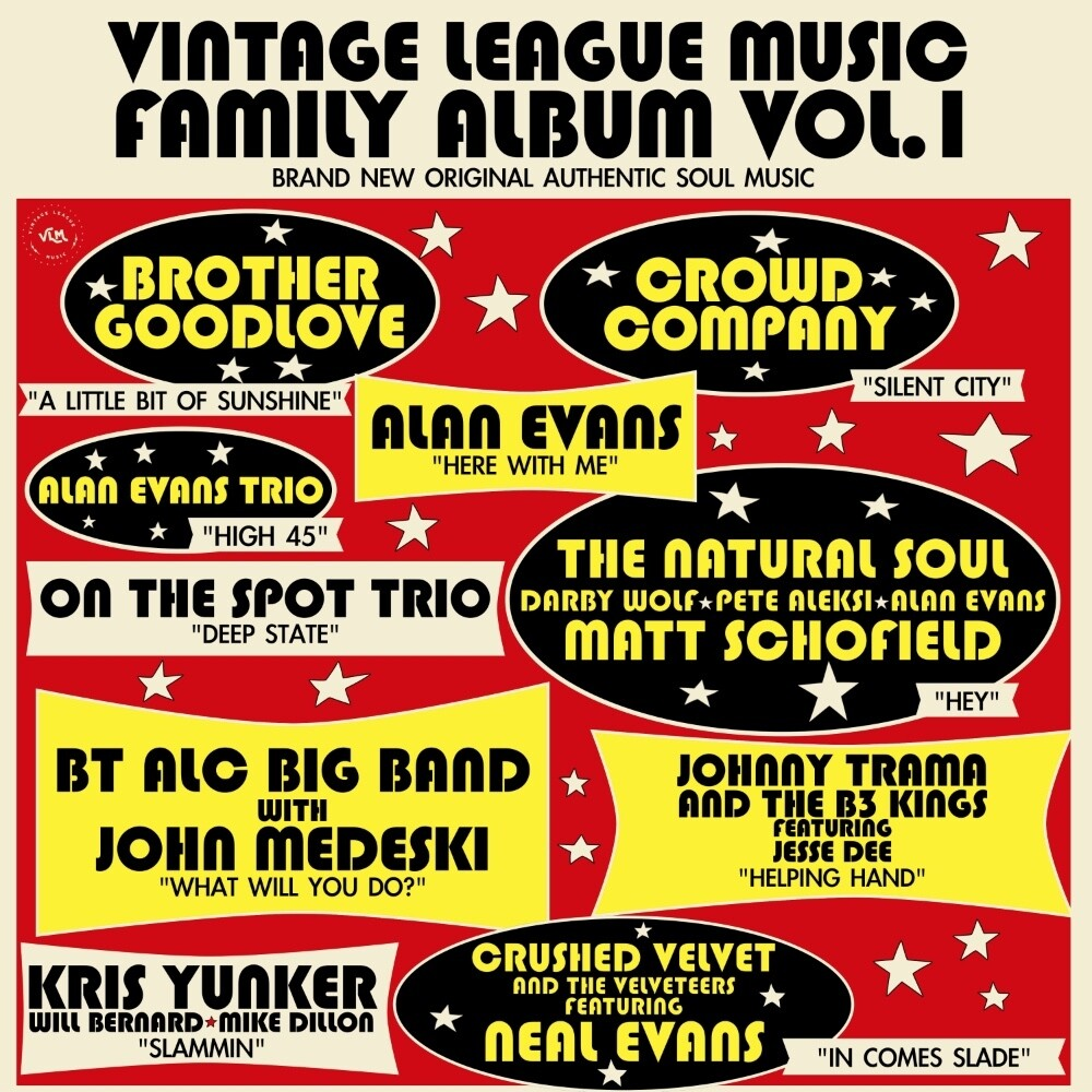 Vintage League Music - Vintage League Music Family Album Vol. 1