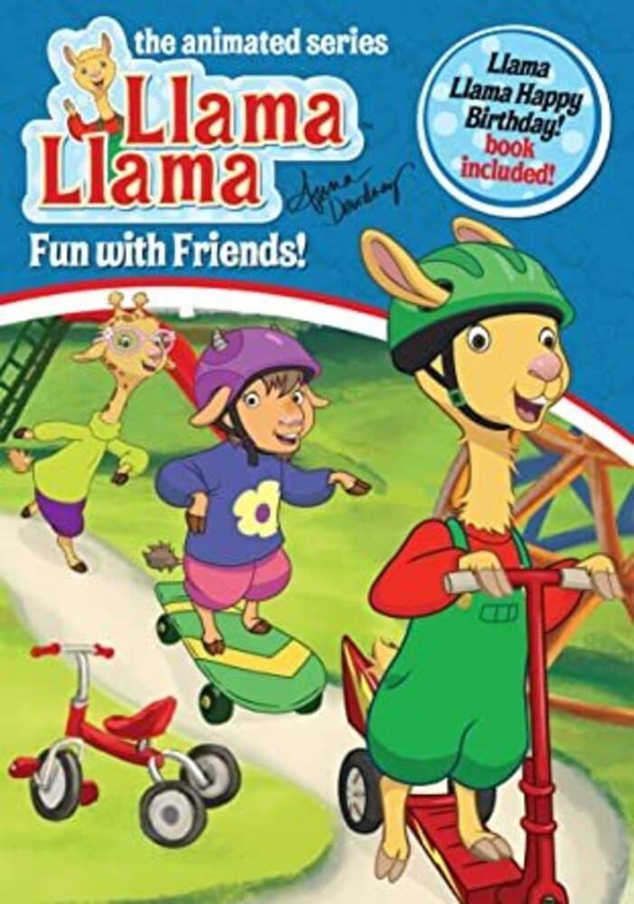 Llama Llama: Fun with Friends - Llama Llama: Fun With Friends [With Happy Bday Llama Llama Book]