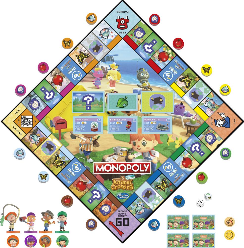 Monopoly Animal Crossing - Hasbro Gamming - Monopoly Animal Corssing