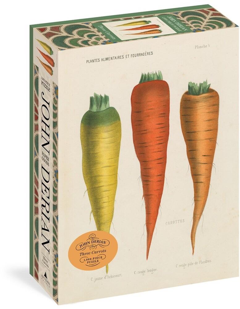 Derian, John - John Derian Paper Goods: Three Carrots 1,000-Piece Puzzle