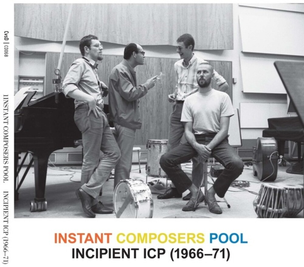 Instant Composers Pool - Incipient Icp 1966-71 (2pk)