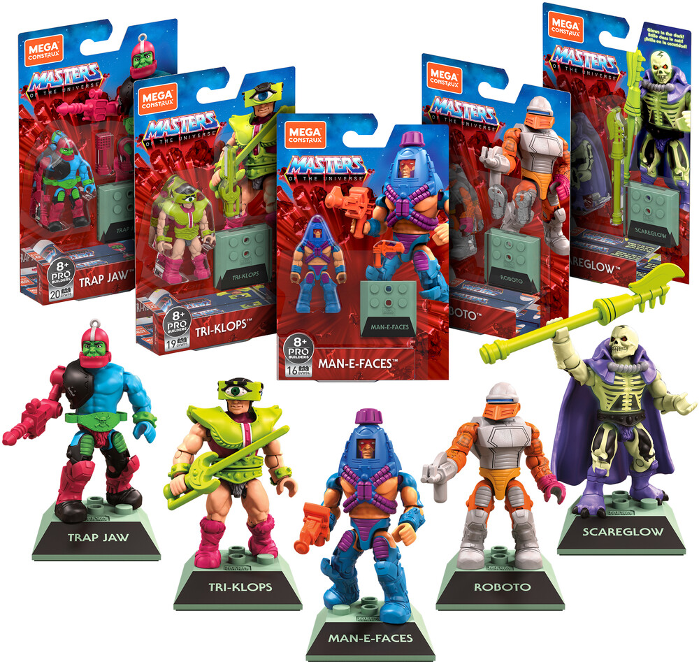 - MEGA Brands - Masters of the Universe Heros (He-Man, MOTU)