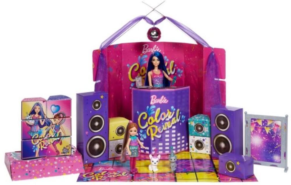 Barbie - Mattel - Barbie Color Reveal Holiday Set