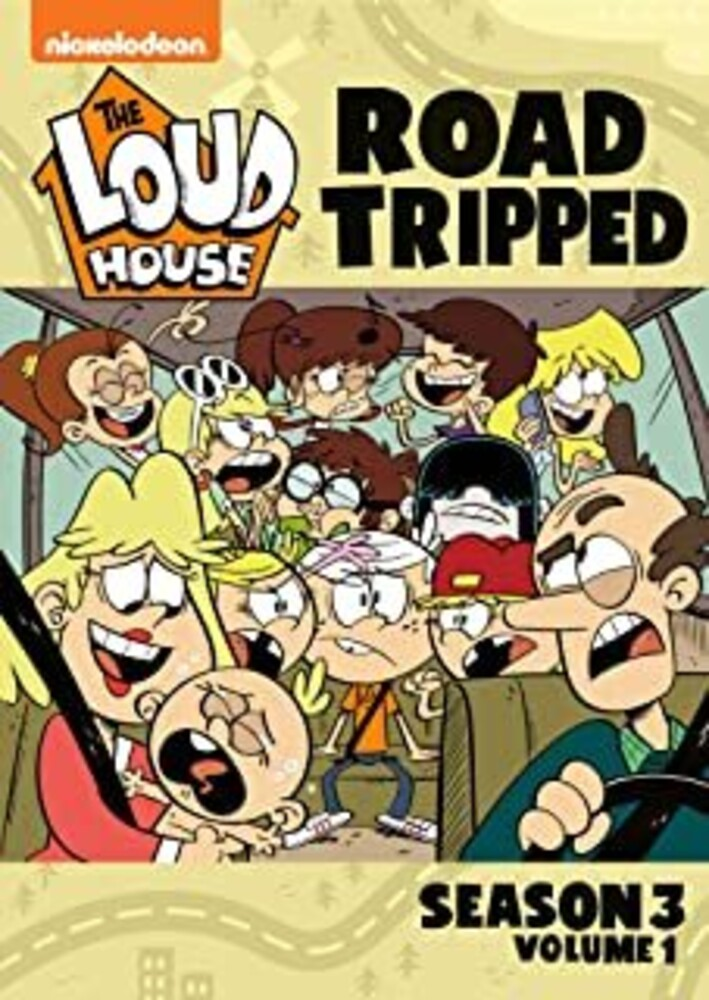 - Loud House: Road Tripped - Season 3 - Vol 1 (2pc)