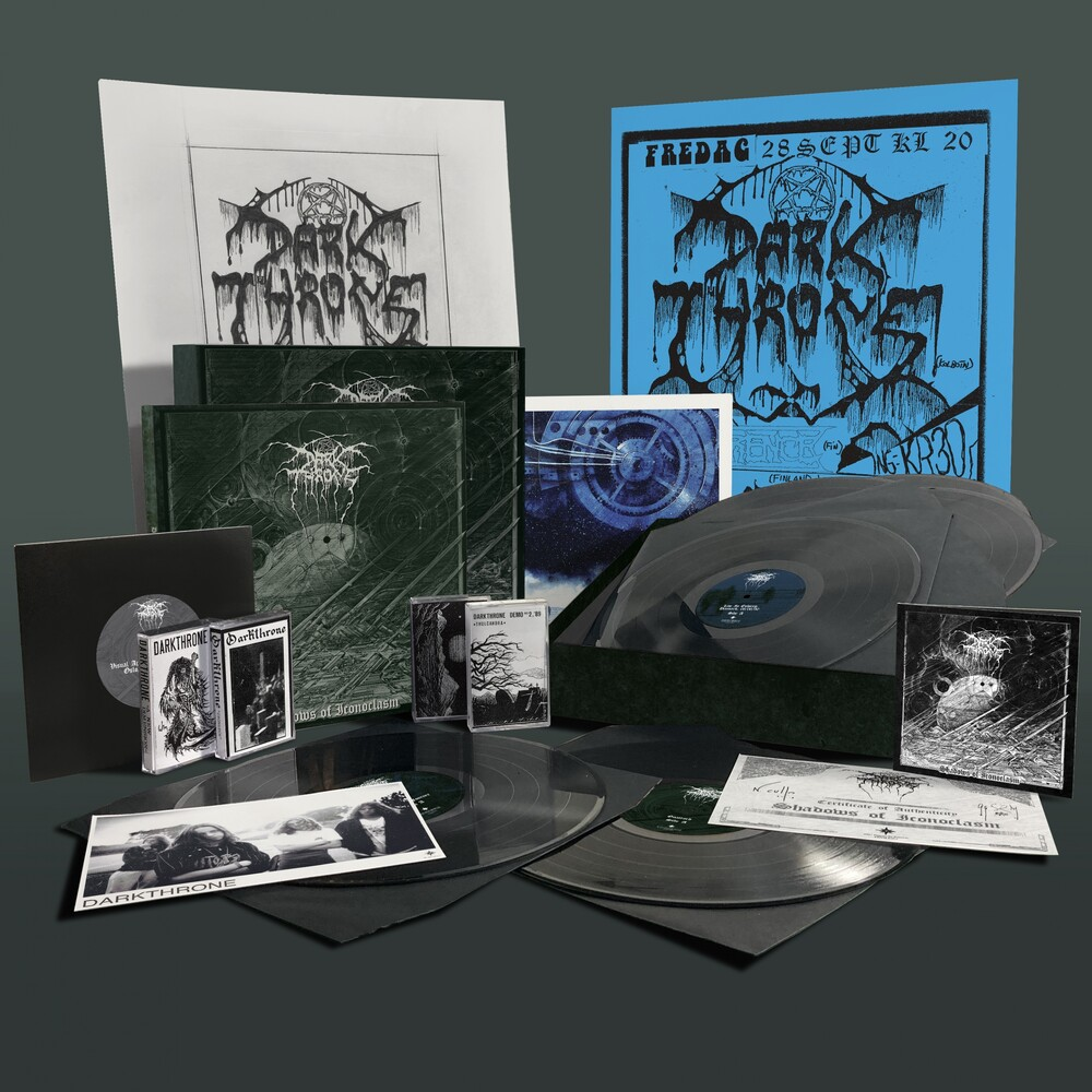 Darkthrone - Shadows Of Iconoclasm (W/Book) (W/Dvd) (Box) (Wsv)