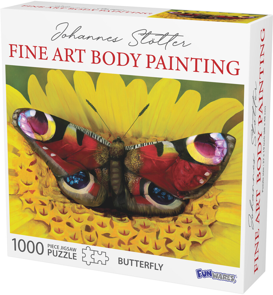 - Funwares Johannes Stotter Butterfly Body Art Puzz
