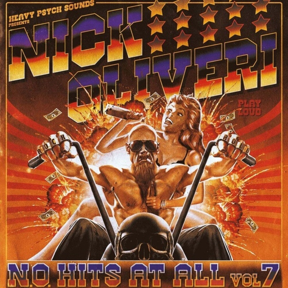 Nick Oliveri - N.O. Hits At All 7 [Colored Vinyl] (Pnk)