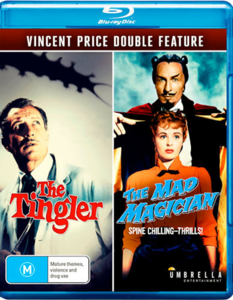 - Vincent Price Double: Mad Magician & The Tingler