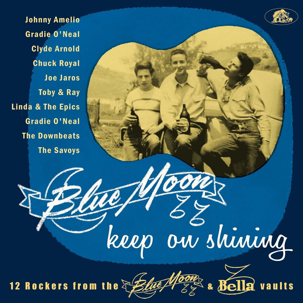 Various Artists - Blue Moon Keep On Shining: 12 Rockers From The Blue Moon & Bella   Vaults (Various Artists)