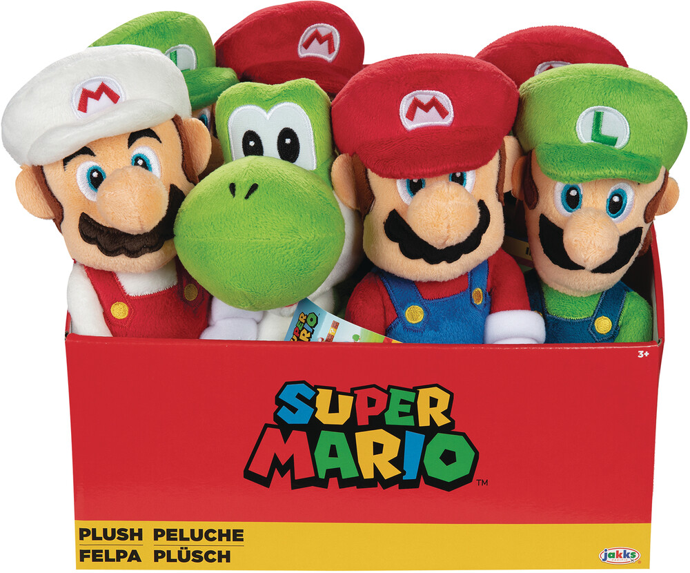 - Super Mario Plush Wave 1 Asst Cs (Net) (Asso)