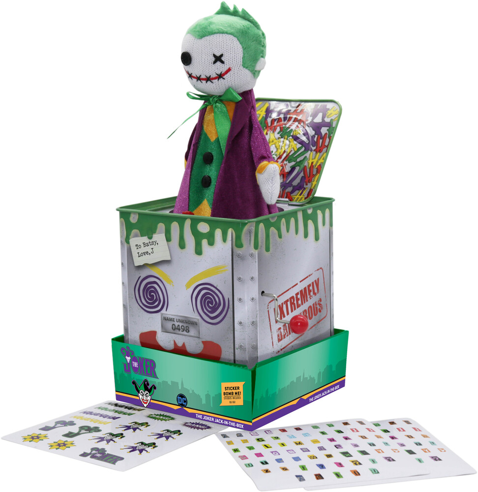 Silver Fox Collectibles - Dc Joker - Jack-In-The-Box (Clcb) (Fig)
