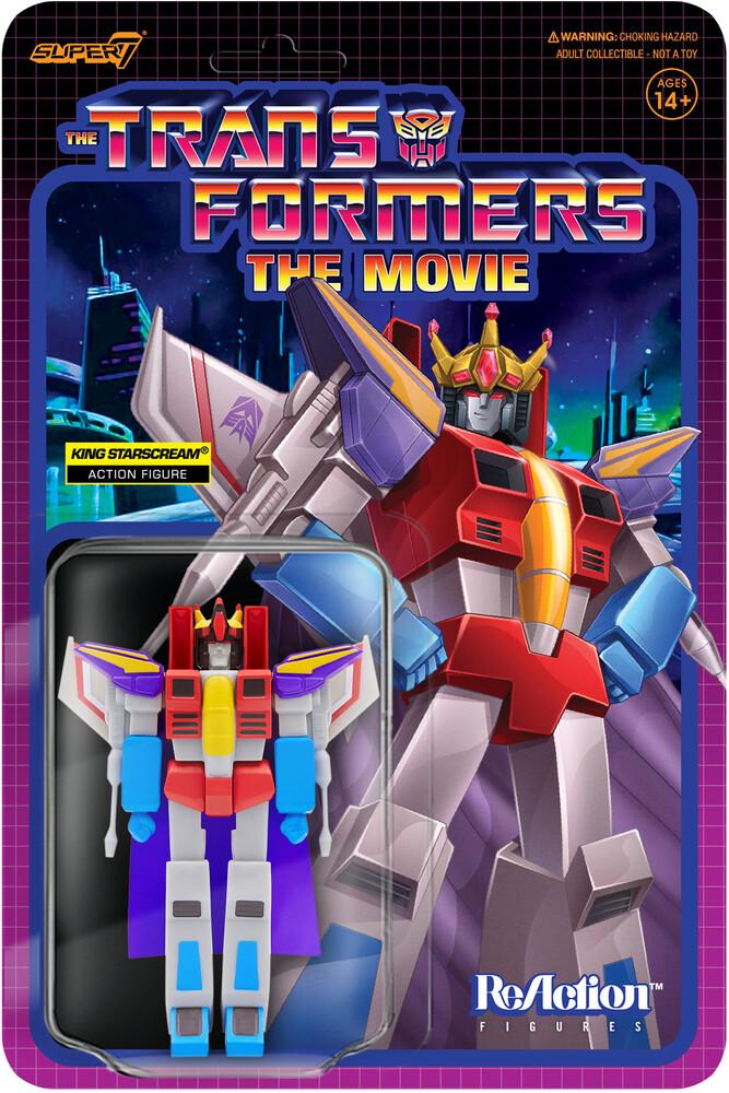 Transformers Reaction Fig Wave 4 - King Starscream - Transformers Reaction Fig Wave 4 - King Starscream