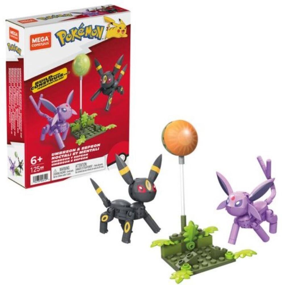Mega Brands Pokemon - Pokemon Umbreon & Espeon (Fig) (Brik)