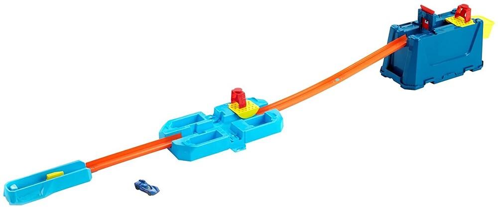 Hot Wheels - Hw Track Builder Unlimited Stunt Crash Box Playset