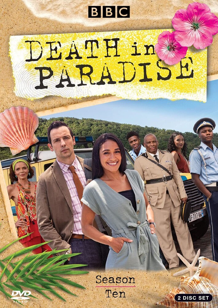 Death in Paradise: Season Ten - Death In Paradise: Season Ten (2pc) / (2pk Ecoa)