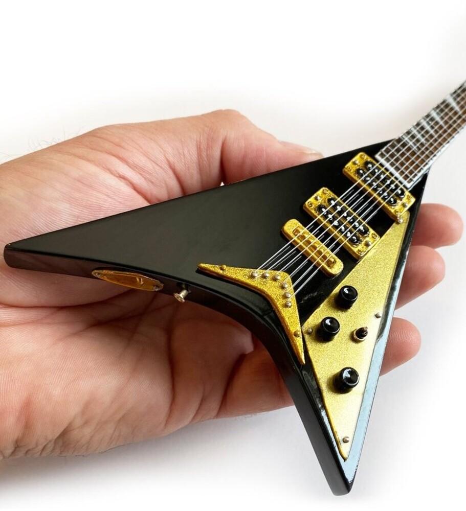 Randy Rhoads Black Concorde V Mini Guitar - Randy Rhoads Black Concorde V Mini Guitar (Blk)