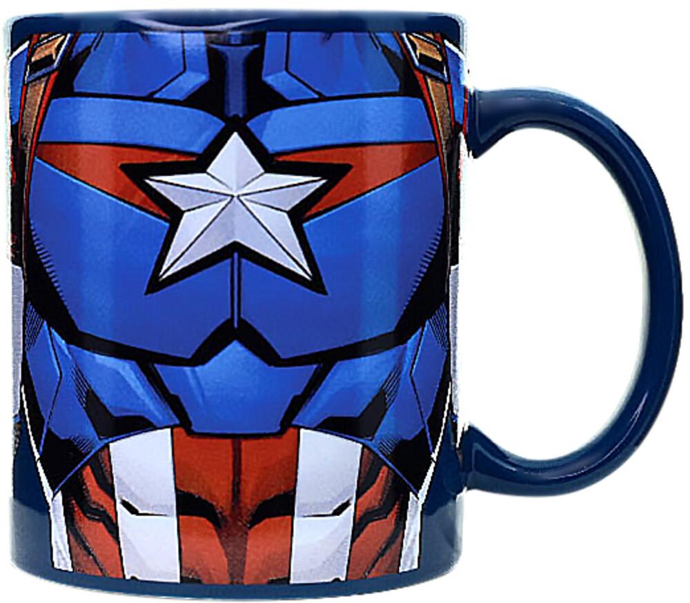 Marvel Captain America Mug (11 Oz) - Marvel Captain America Mug (11 Oz) (Mug)