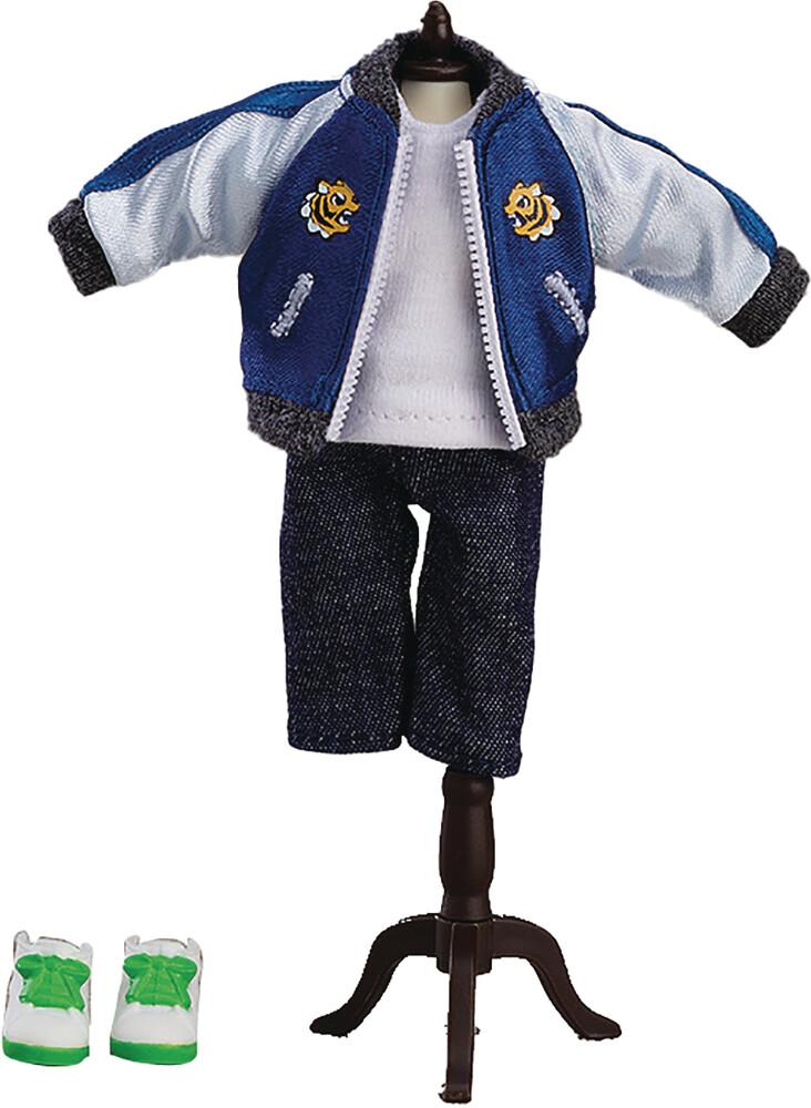 Good Smile Company - Nendoroid Doll Outfit Set Souvenir Jacket Blue Ver