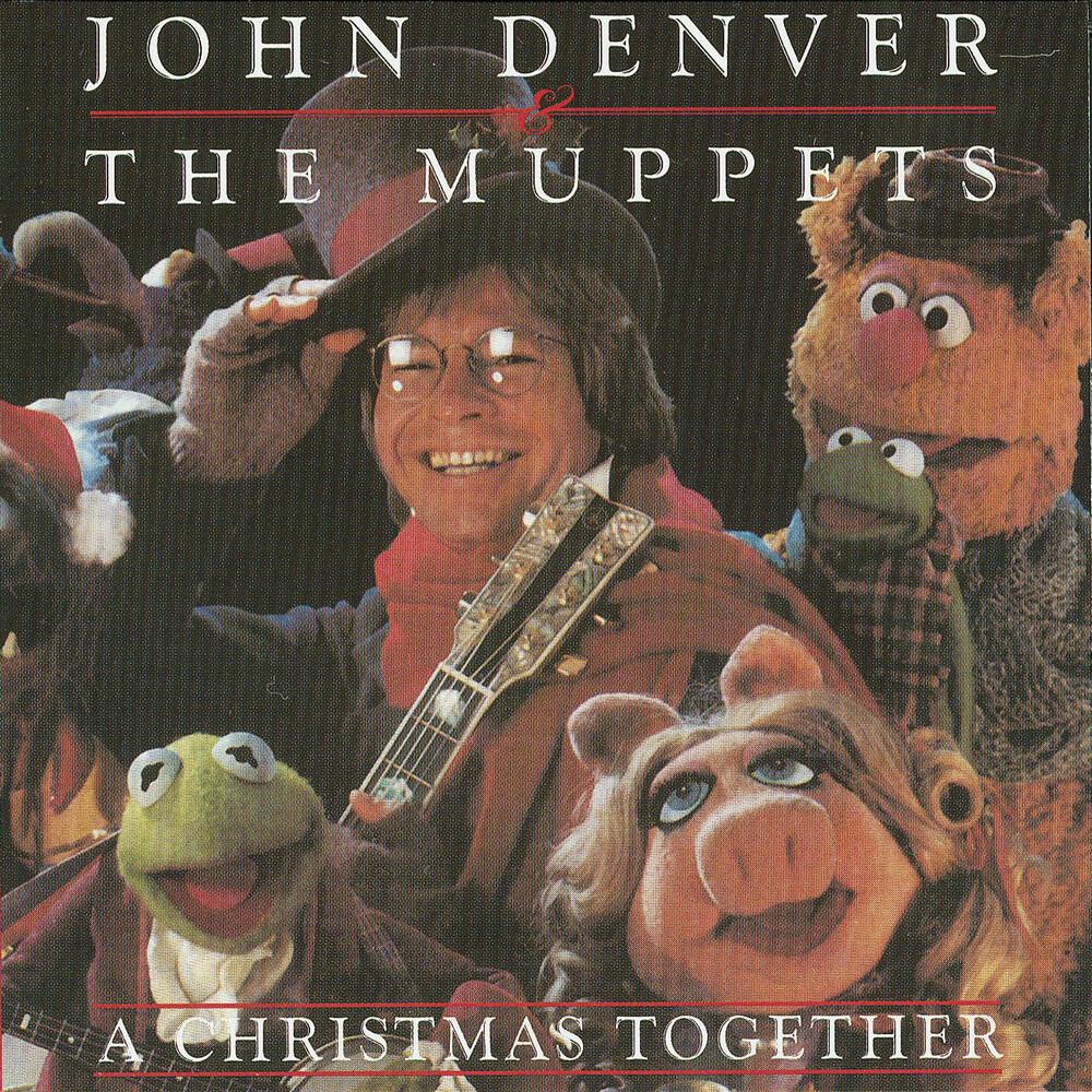 John Denver - A Christmas Together (Candy Cane Swirl Vinyl)