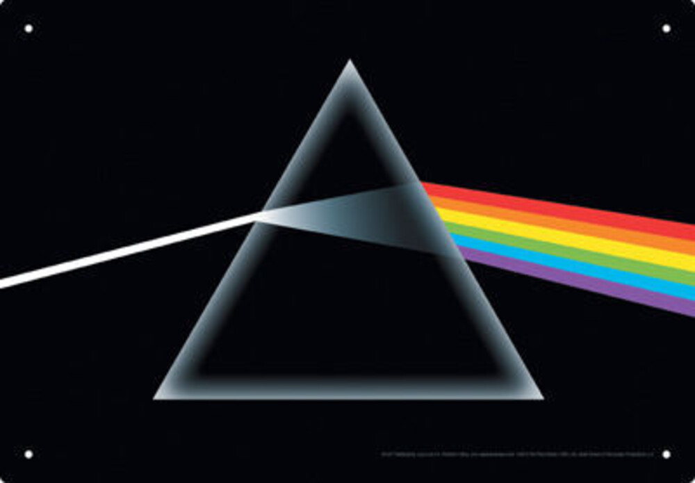 Pink Floyd - Pink Floyd Dark Side of the Moon Album Cover Art 8 x 11.5 Tin Sign