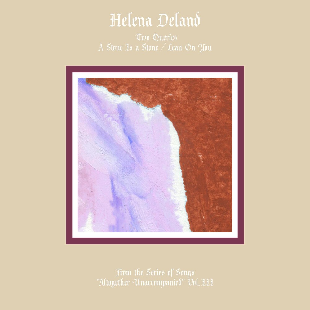 Helena Deland - From The Series Of Songs - Altogether