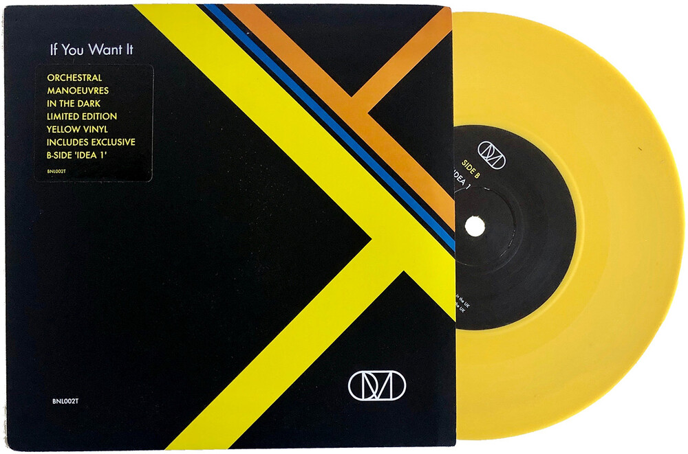 Orchestral Manoeuvres in the Dark (O.M.D.) - If You Want It / Idea 1