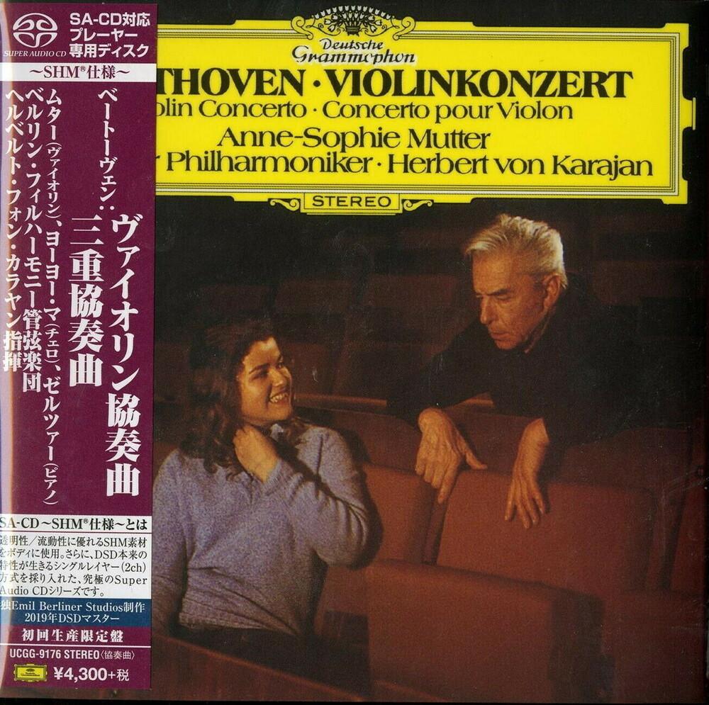 Beethoven / Anne Mutter -Sophie - Beethoven: Violin Concerto Etc [Remastered] (Dsd) (Shm)