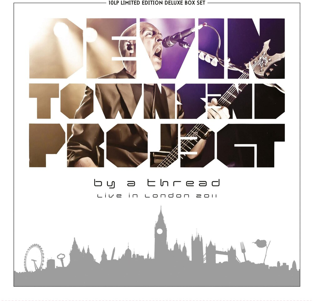 Devin Townsend Project - By A Thread - Live in London 2011 (Ltd. Deluxe black 10LP Box Set)