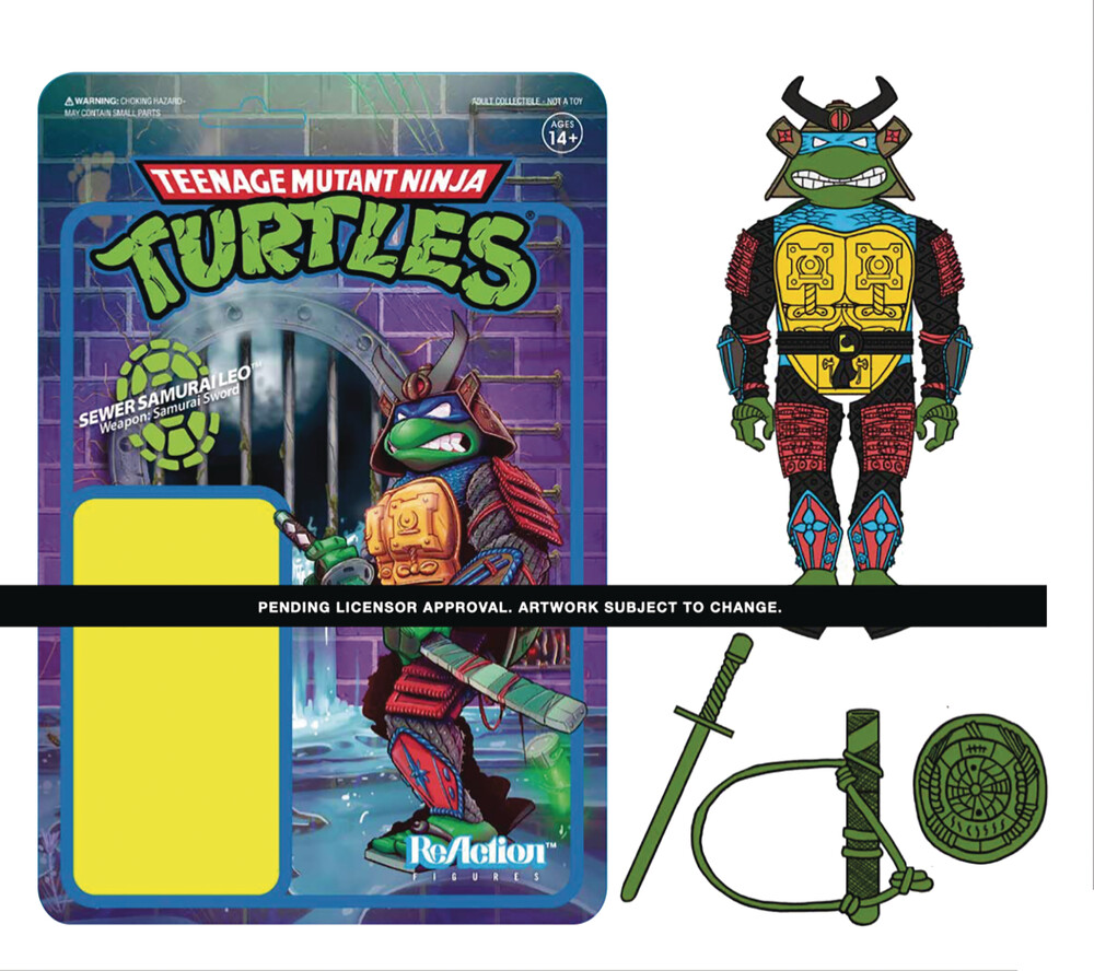 Tmnt Wave 3 - Samurai Leonardo - Teenage Mutant Ninja Turtles Wave 3 - Samurai Leonardo